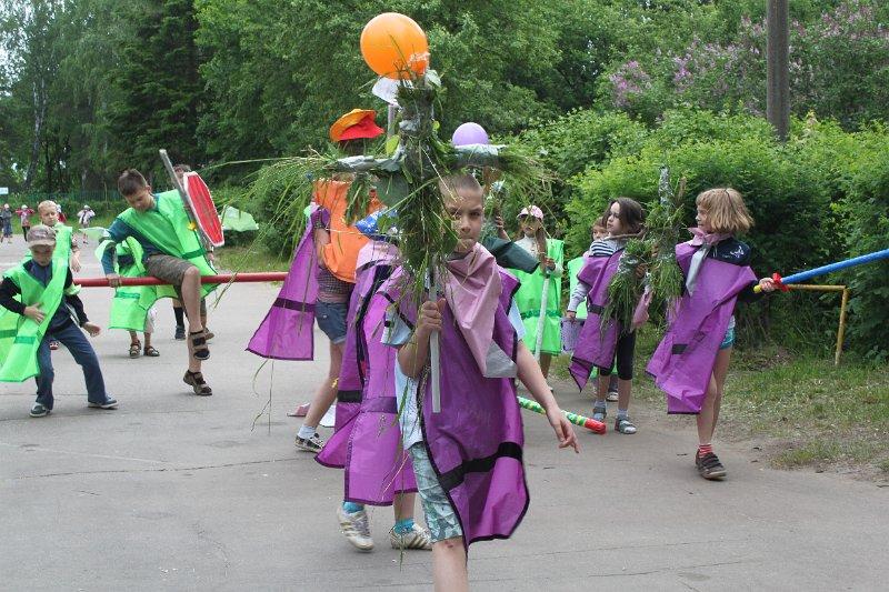Сценарий праздника день моды в лагере