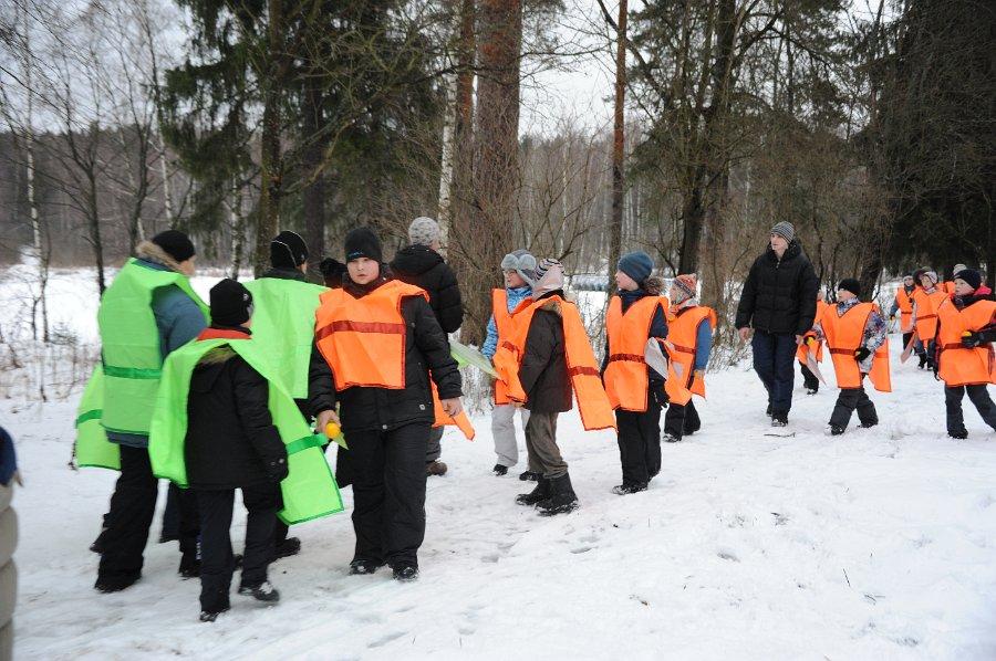 знакомство зимнем лагере в первый день